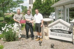 National Remodeler award for Bloomfield Construction
